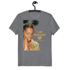 YouAreTheLight – ComeFollowMe/ I AM ENOUGH – Unisex Organic Cotton T-Shirt