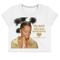 YO SOY MÁS QUE SUFICIENTE – YO SOY LA LUZ…Camiseta corta con estampado